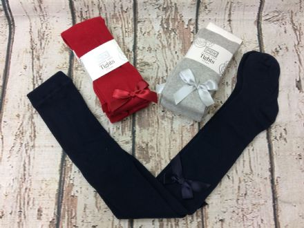 Cotton Soft Ribbon Tights